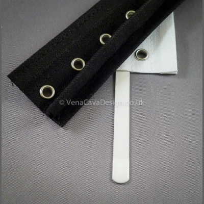 Eyelet tape with Boning Channels