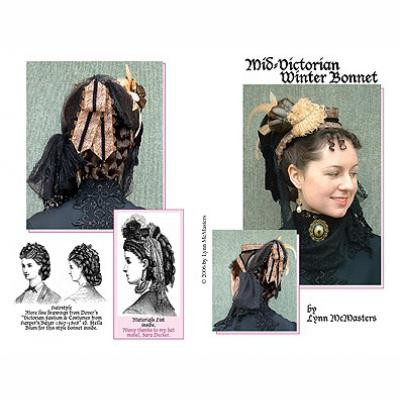 Mid-Victorian Winter Bonnet