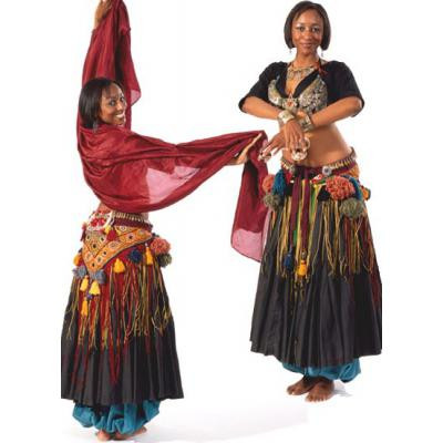 American Tribal Style Belly Dancer Choli