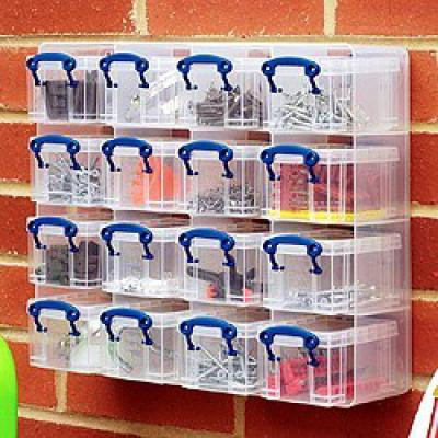16  x 0.3 litre Really Useful Organiser Pack