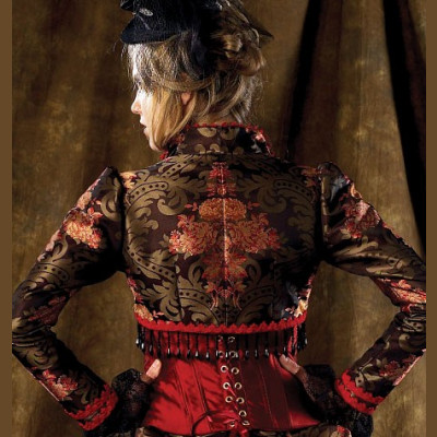 Misses Bolero, Corset, Skirt and Overskirt