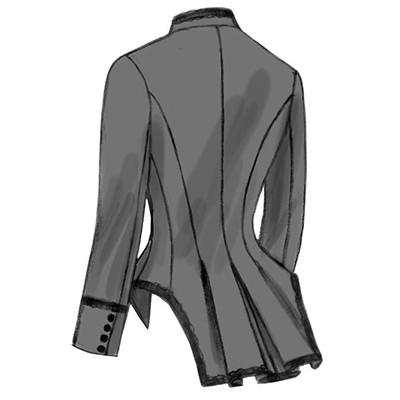 Butterick Misses' Boned, Back-Pleat Jackets