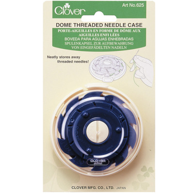 Dome Threaded Needle Case - Clover