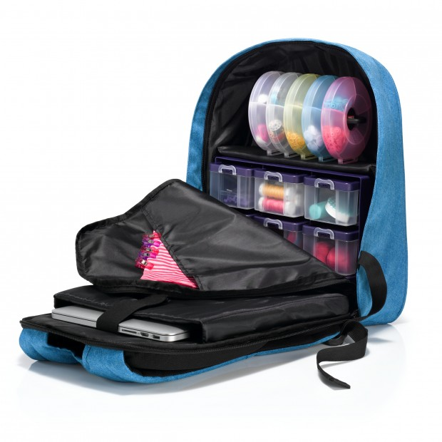 Sewing and Crafting Backpack with Storage Boxes -Prym