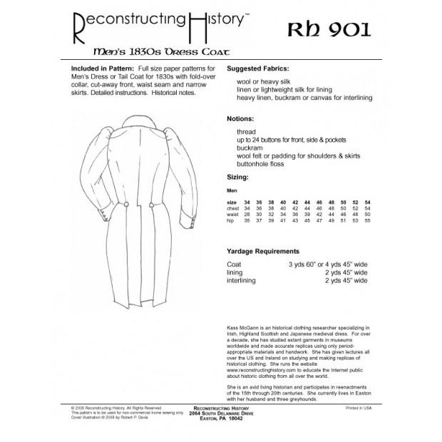 1830s Dress Coat