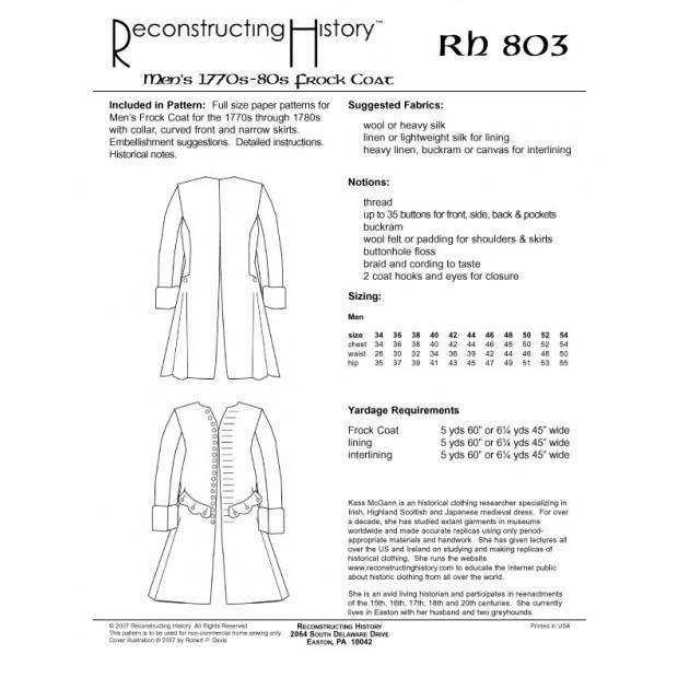 1780s Frock Coat
