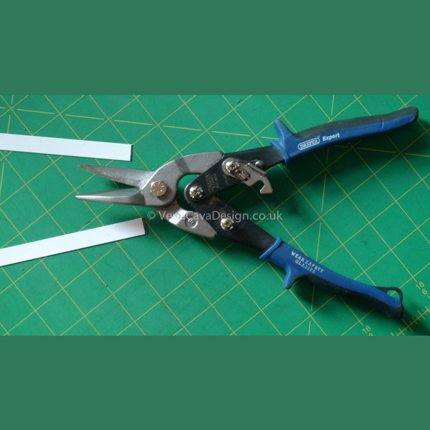 Draper Aviation Snips (for cutting flat steel boning)