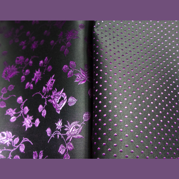 Spot Broche Fabric for Corsets, 6 colours, beautiful, heavy, traditional  fabric.