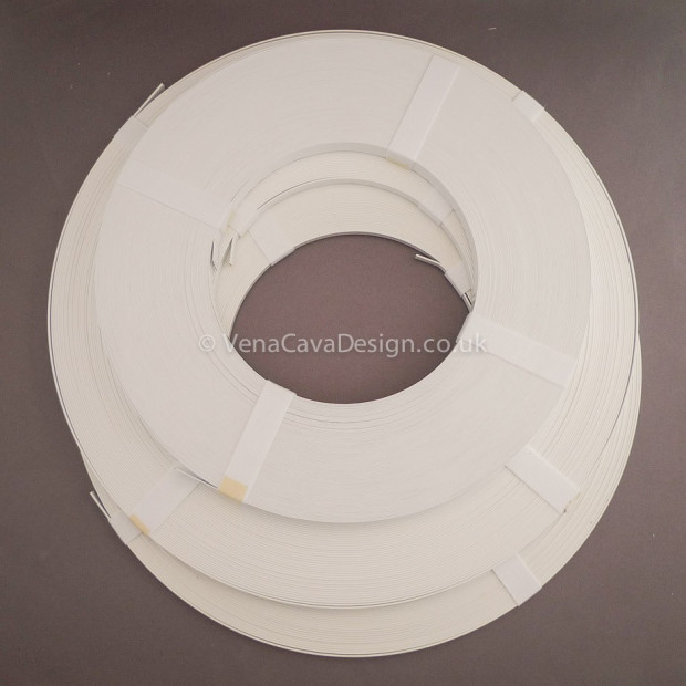 Plastic Coated Steel Boning  5 sizes by the Roll