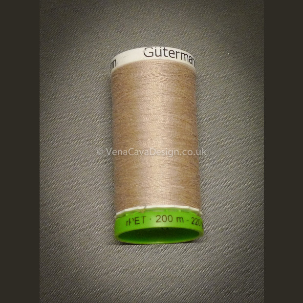 Gutermann Recycled Polyester Thread 200m reels