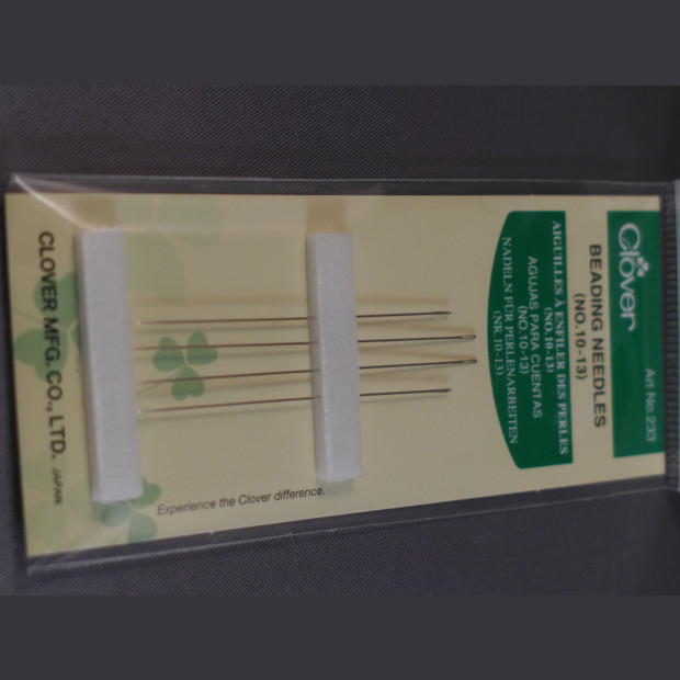 Clover Beading Needles (No 10-13)