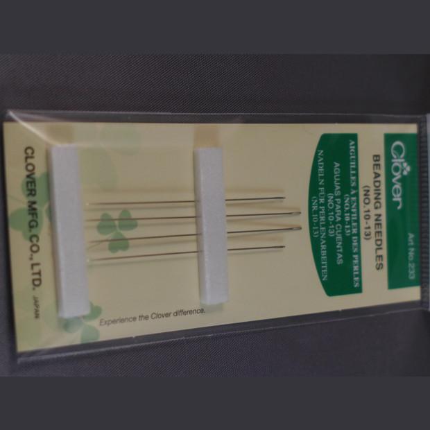 Clover Beading Needles (No 10-13)