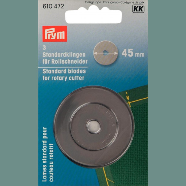 Ergonomic Rotary cutter Prym 45 mm