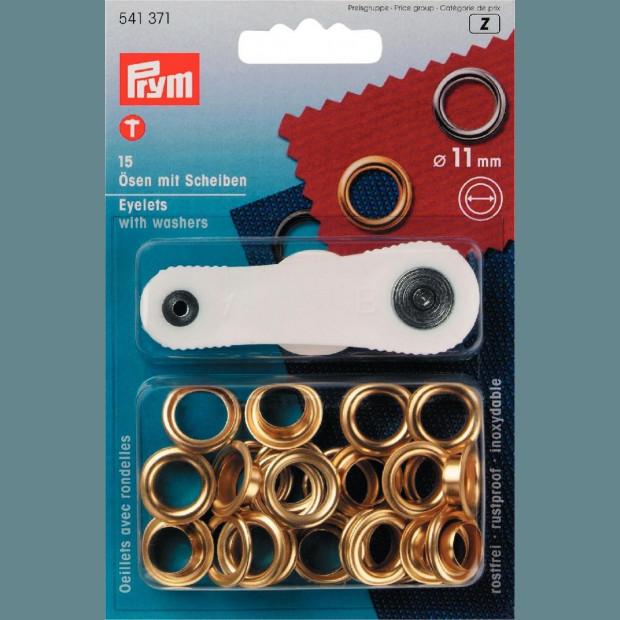 Eyelets and Washers 11mm - Prym