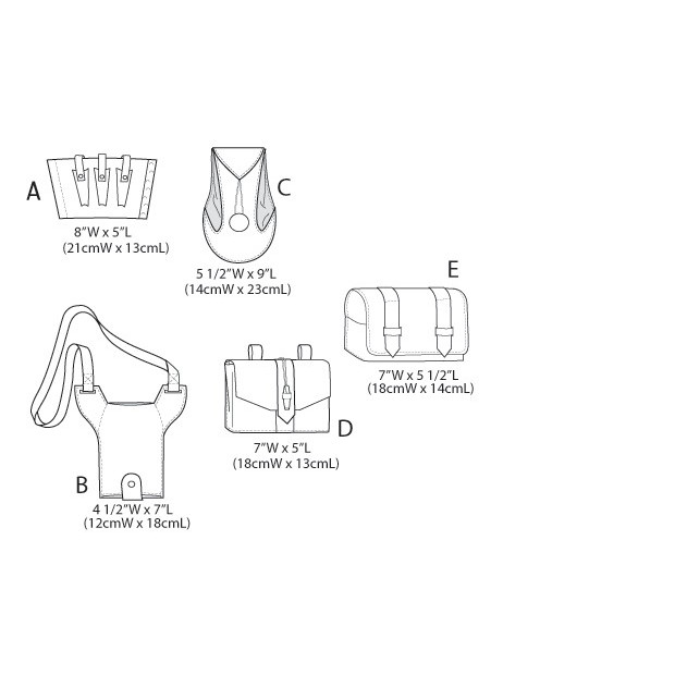 Gaunlet, Water Bottle Carrier and Pouches