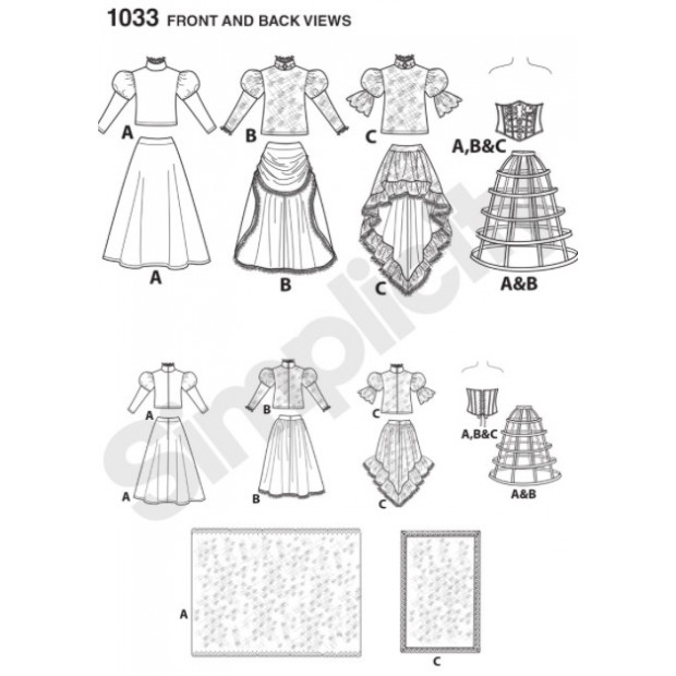 Day of the Dead  costume Pattern