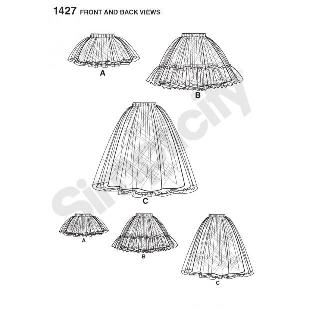 Tulle Petticoat/Skirt in 3 lengths