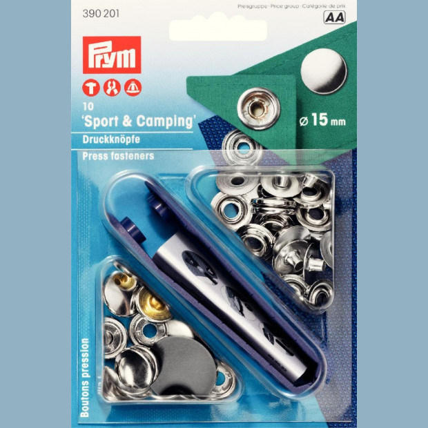 Press Fasteners - Sport and Camping - Prym