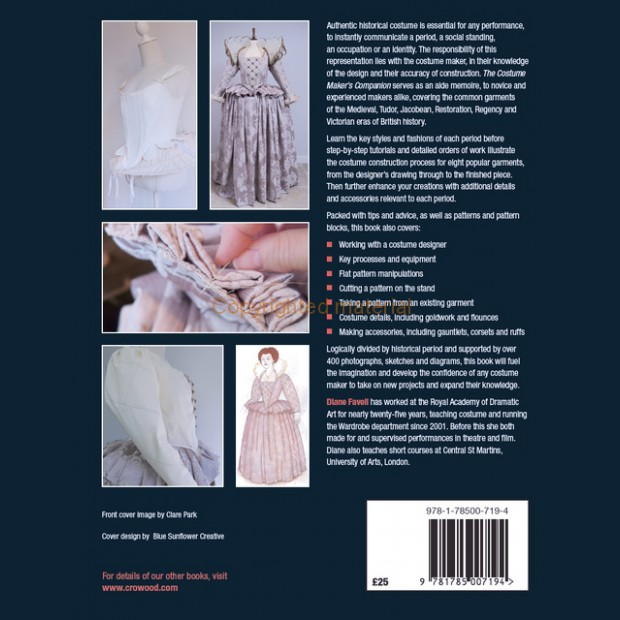 Costume Maker's Companion BY Diane Favell