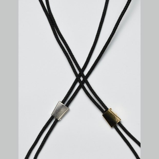 Bolo Tie Making Cord and Adjuster, make your own Western Wear. Wild West, Steampunk.