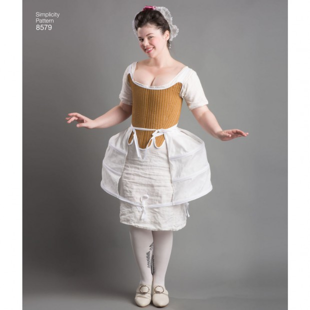 Simplicity Pattern 8579 Misses' 18th Century Costume