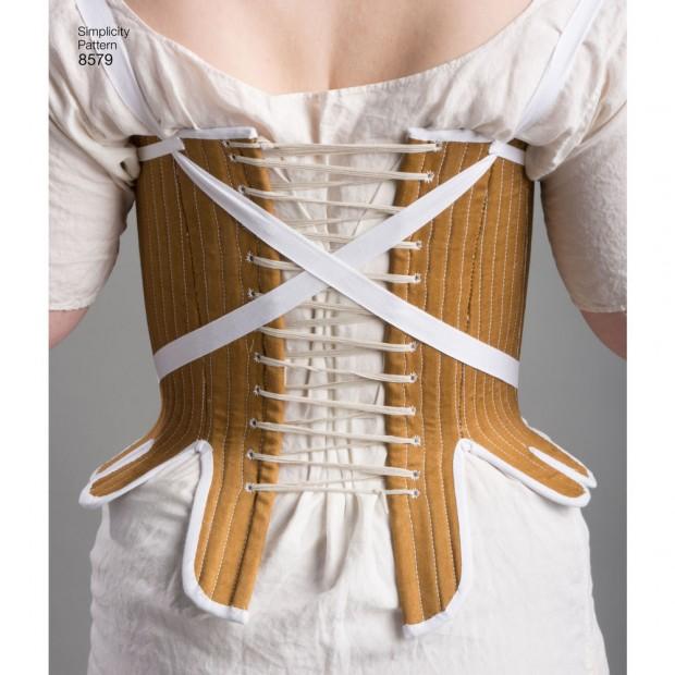 Simplicity Pattern 8579 Misses' 18th Century Costume