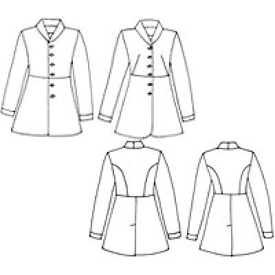 Frock Coat Sewing Pattern Gallery Origami Instructions