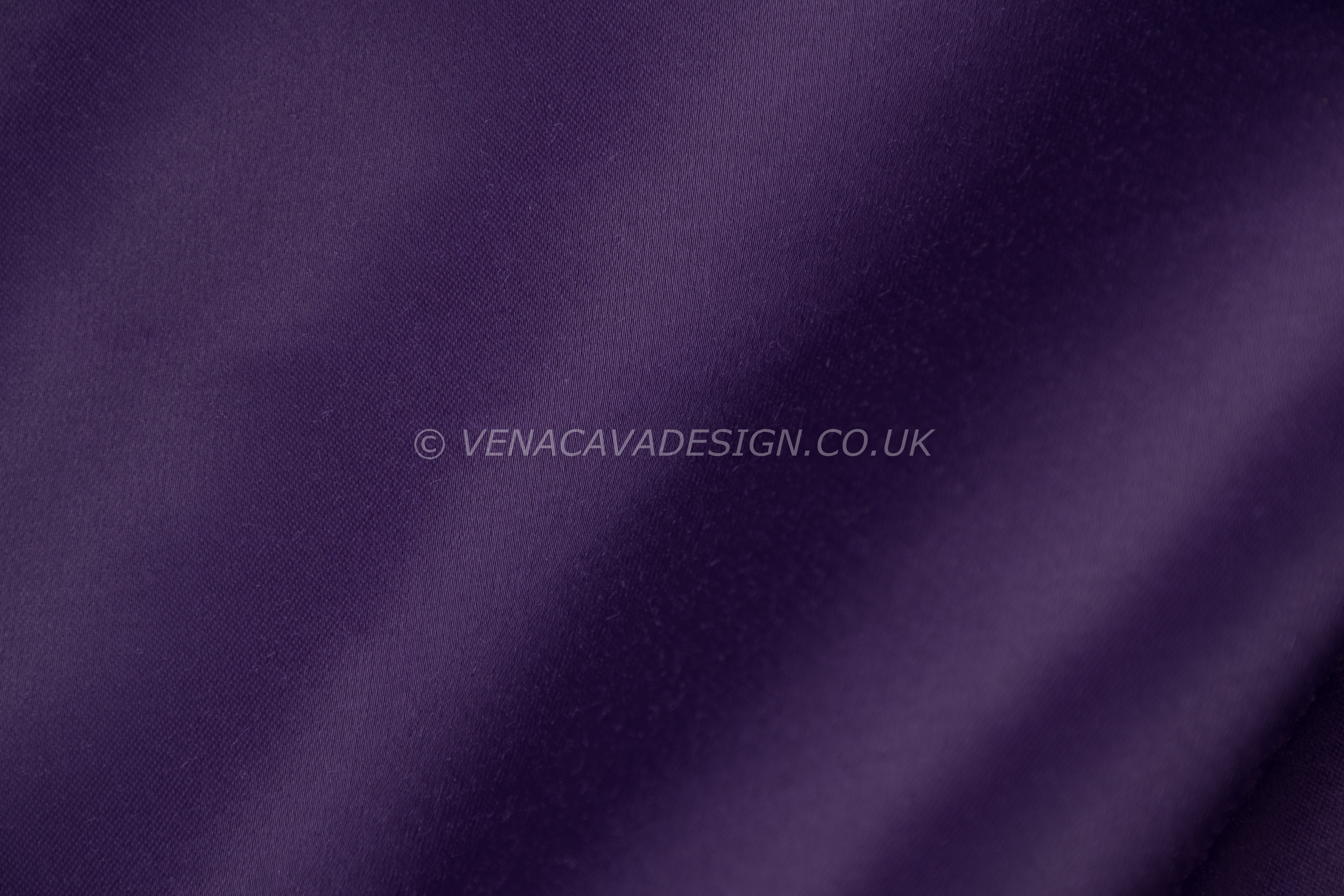 Heavy Purple Satin