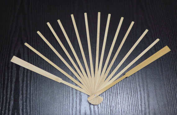 Bamboo Fan Staves Design and Make your custom fan in fabric