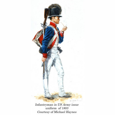 1804 US Army Issue Artillery Coat