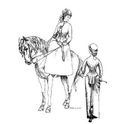 1880s-1890s Riding Habit Ensemble