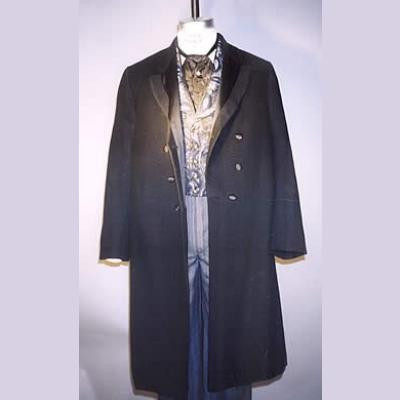Mens Single and Double-Breasted Frock Coats with 2 Vests