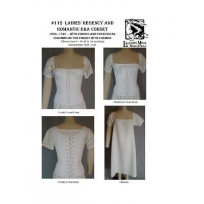 Ladies Regency and Romantic Era Corset LM115 > Laughing Moon