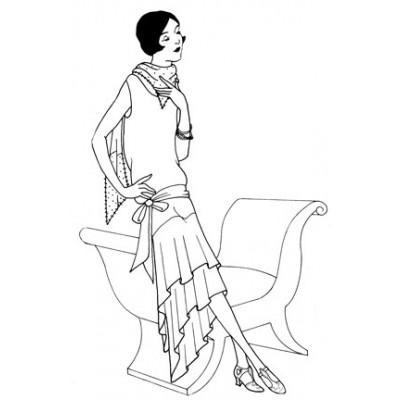 1926 Evening Dress