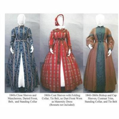 Wrapper, Work Gown, Morning Gown or Maternity Dress
