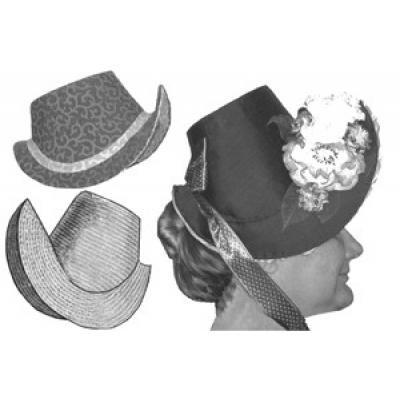 1880s French Bonnet Frame Pattern