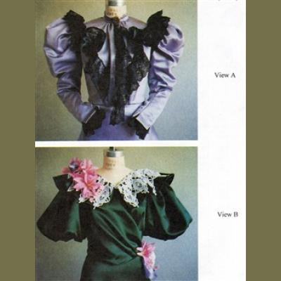 1890s Waist with Four Bodice and Five Sleeve Options LM103