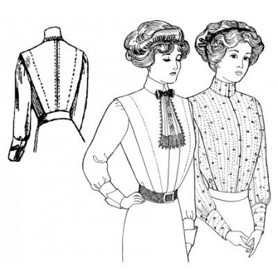 Ladies Shirt-Waist circa 1910-1914