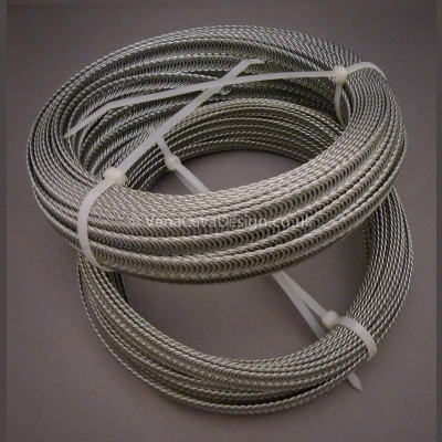 Spiral Wire for Corsetry 5, 6, 7 and 11mm widths