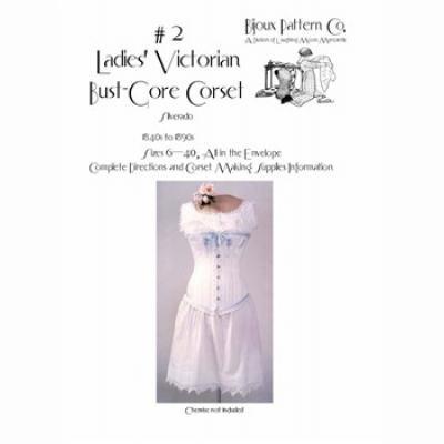 Ladies Victorian Bust Gore Corset