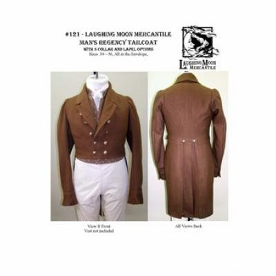 Mens Regency Tailcoat