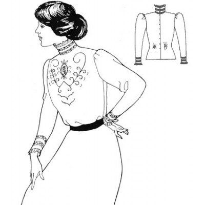 Simple Edwardian Blouse