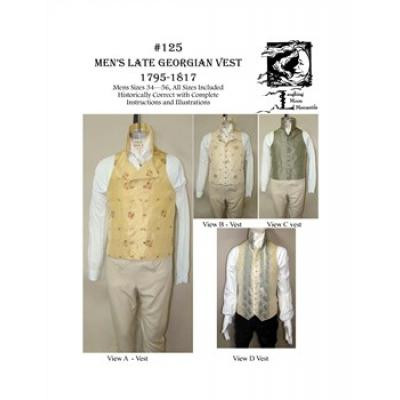 Mens Late georgian Vest 1795-1817
