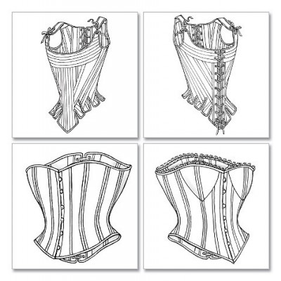 Butterick Corsets  and Stays Pattern