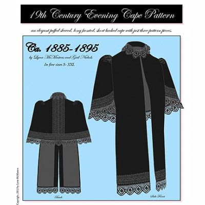 1885-1895 Evening Cape Pattern