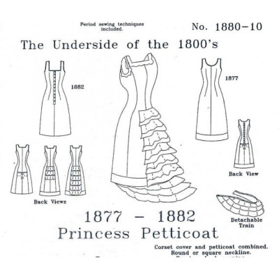 1877 - 1882 Princess Petticoat