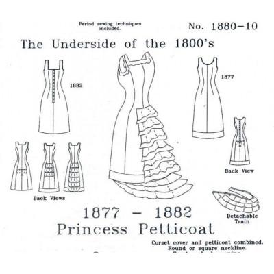 1877 - 1882 Princess Petticoat