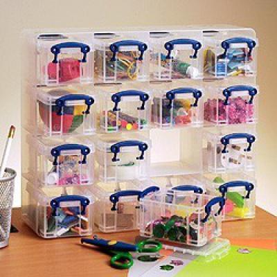 16  x 0.3 litre Really Useful Organiser Pack