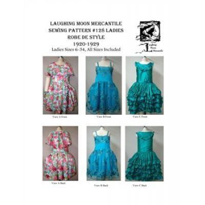 Ladies Robe De Style 1920-1929