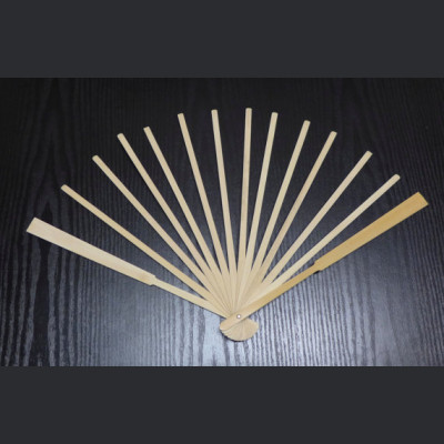Bamboo Fan Staves Design and Make your custom fan in fabric, paper or feathers